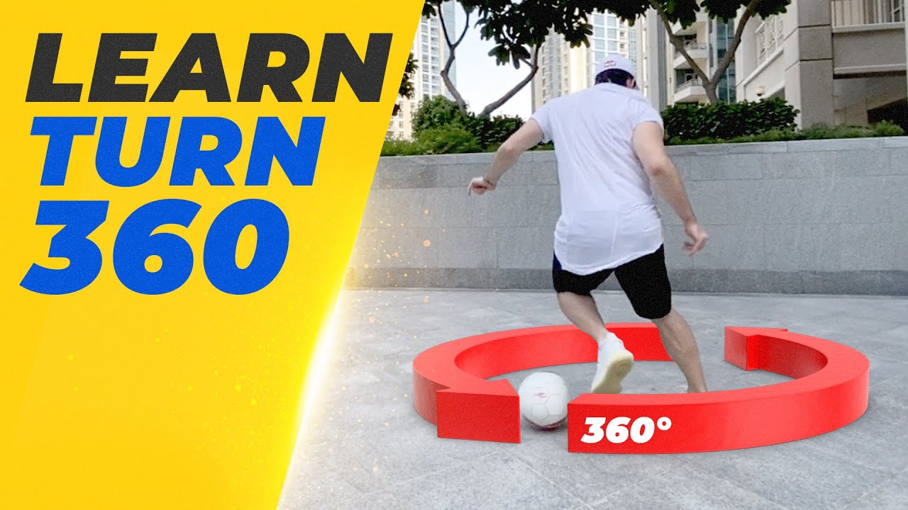 EASY WAY TO DRIBBLE A DEFENDER  : Turn 360 by Sean Garnier
