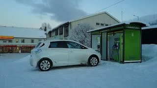 #34 Winter test of Renault Zoe 210