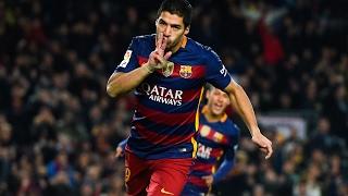 La superbe reprise de volée de Suarez face aux Sporting Gijon (3/1) thumbnail
