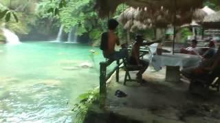 Philippines Cebu Moalboal 2012 - Kawasan Falls 3