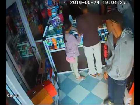 عصابة سرقة المحلات التجارية بكليميم