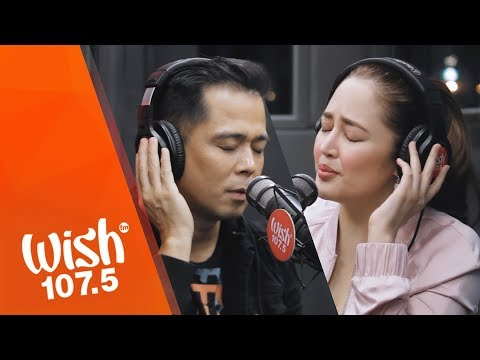 "Dingdong Avanzado & Jessa Zaragoza perform ""Panghabangbuhay"" LIVE on Wish 107.5 Bus"
