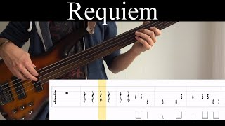 Requiem (Opeth) - Bass Cover (With Tabs) by Leo Düzey