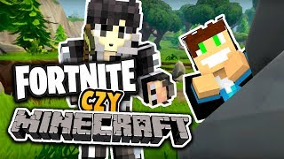 PRAWDZIWY FORTNITE W MINECRAFT?! - BATTLE ZONE #1 /w Vertez
