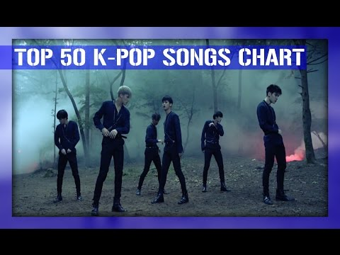 [TOP 50] K-POP SONGS CHART - AUGUST 2016 (WEEK 3)