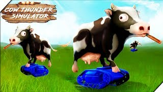 АТАКА ДОМАШНИХ ЖИВОТНЫХ - Игра Cow Thunder Simulator
