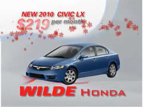 Wilde Honda - Civic Winter Lease Special