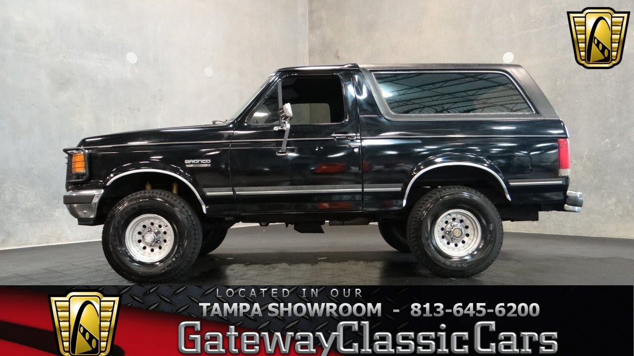1990 Ford Bronco  YouTube