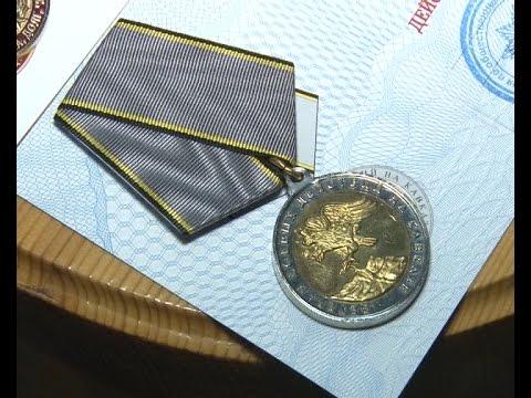 В Альметьевске ветеранам боевых действий в Афганистане и Чечне вручили медали