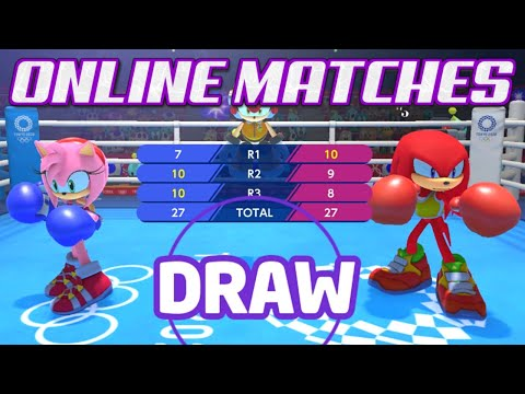 Mario And Sonic Tokyo 2020 Olympics - Online Matches [ft. Rufix Legacy]