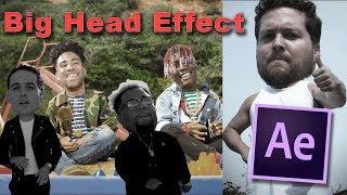 كيفية إنشاء الرأس الكبير تأثير البرنامج التعليمي | After Effects CC 2017