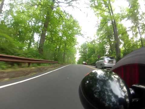 Ride through the Watchung reservations