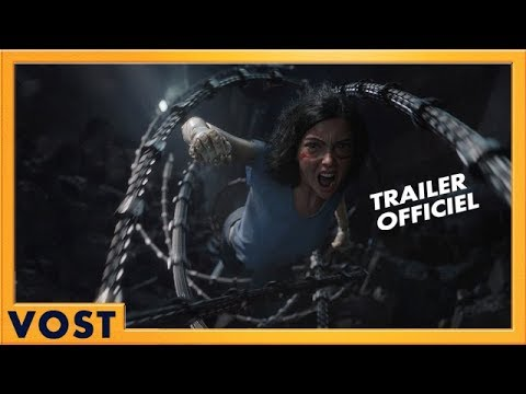 Alita : Battle Angel | Nouvelle Bande Annonce Officielle | VOST HD | 2019