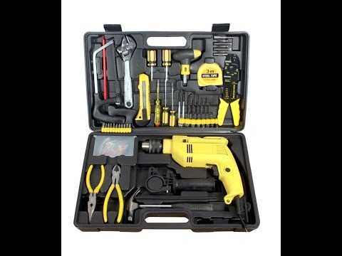 Buildskill BED2100tk Power Toolkit Review in Hindi|13mm Reversible|Drill Machine for home Use|India