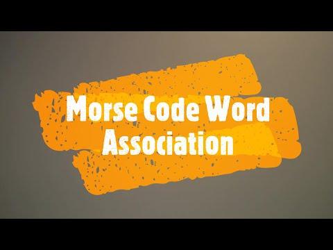 Morse Mnemonic Alphabet