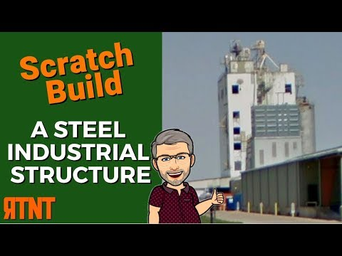 How To Scratch Build A Modern Steel Structure Model