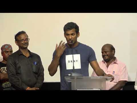 Actor Vishal Bold Speech on Sterlite issue