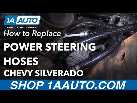 How to Replace Power Steering Hoses 07-13 Chevy Silverado