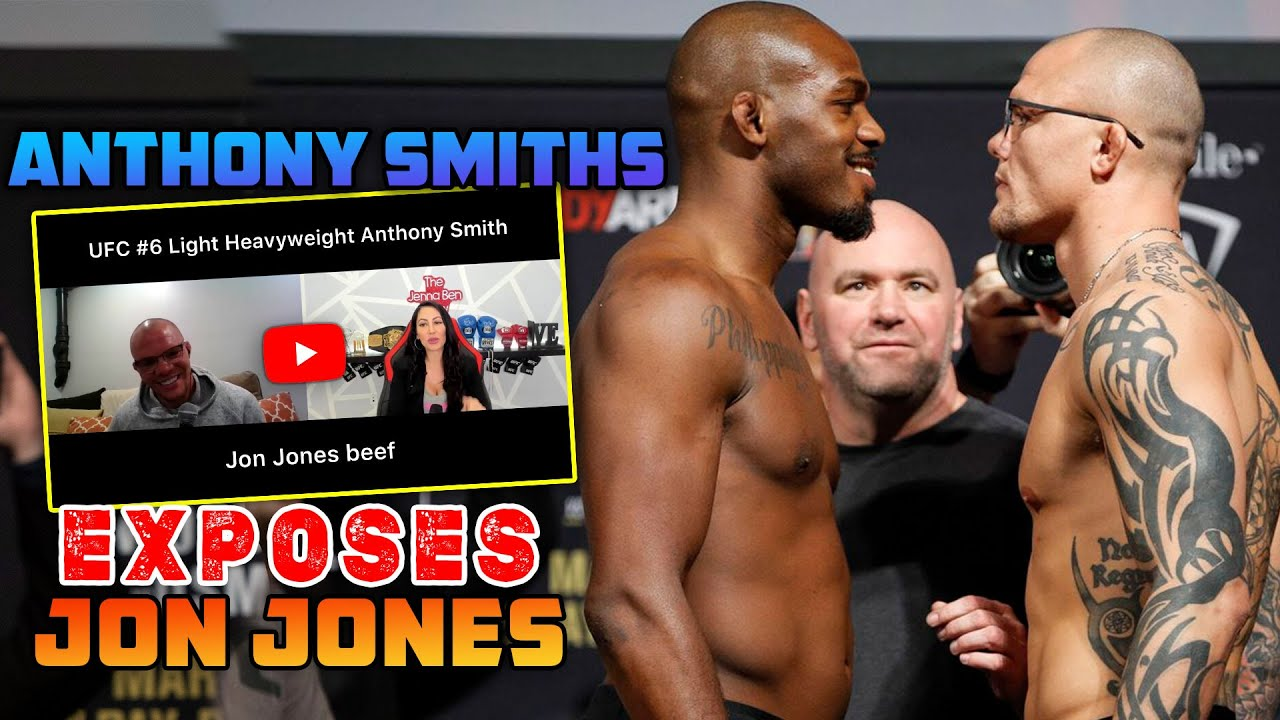 Anthony Smiths Exposes Jon Jones For Failing EVERY Drug Test The Week Before Their Fight
