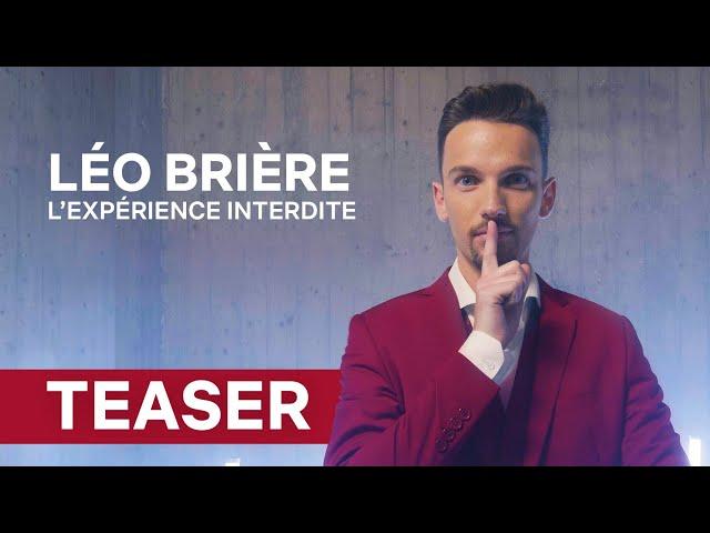 TEASER | Léo Brière - L'expérience Interdite (Nouveau spectacle)