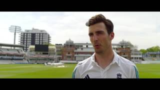 vuclip Steven Finn discusses mental and physical strength with Simon Hughes