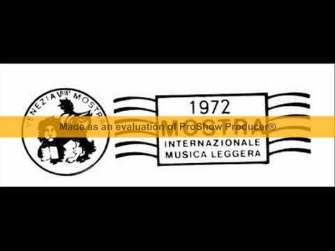 Mostra Internazionale di Musica Leggera Venezia  1972 - (23 canzoni)