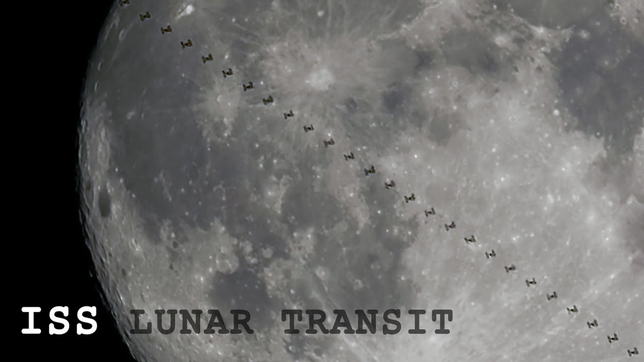 space station lunar transit - photo #21