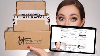 Let's shop online & then try the makeup 🛍