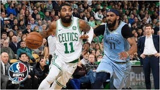 Kyrie Irving outduels Mike Conley, Celtics top Grizzlies | NBA Highlights