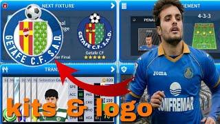 How To Create Getafe CF Team Kits & Logo 2019 | Dream League Soccer 2019