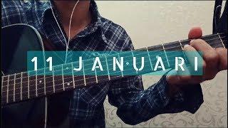 fingerstyle guitar cover 11 januari - GIGI