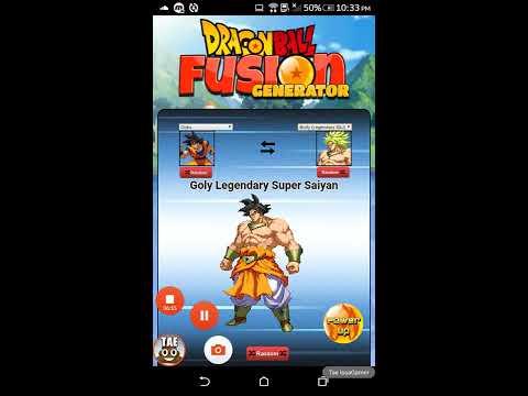 Dragon Ball Fusion Generator! Epic Fusions!