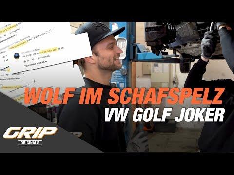 VW Golf Joker auf 500 PS - Ein echter Wolf im Schafspelz! I GRIP Originals