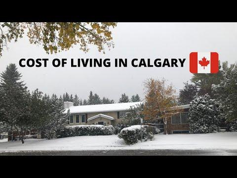 COST OF LIVING IN CALGARY | ALBERTA | CANADA