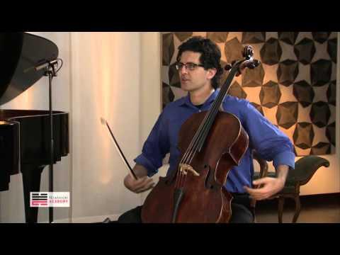 Cello Masterclass - Body and Sound - Amit Peled