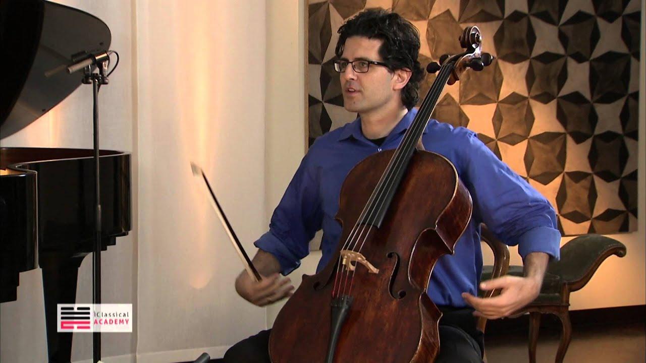 Cello Masterclass - Body and Sound - Amit Peled - YouTube