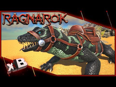 MEGALANIA TAMING!:: ARK: Ragnarok Evolved :: Ep 6