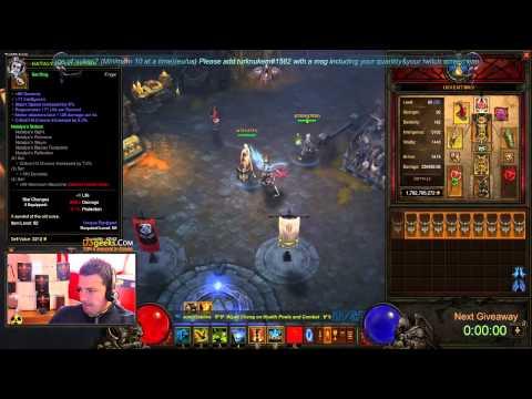 Diablo 3 Best six crit mempo reaction!!!
