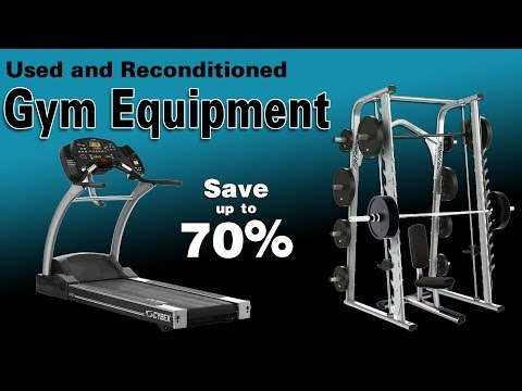 Used Fitness Equipment For Your Home Or Gym