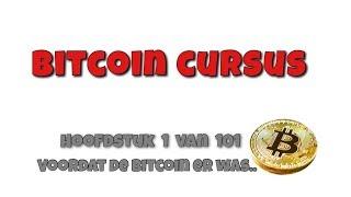 Bitcoin Cursus Hoofdstuk 1 - Voordat de Bitcoin er was.. #Crypto #Bitcoin