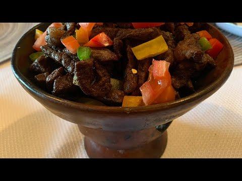 የሸክላ ጥብስ yeshekla tibis Ethiopian food