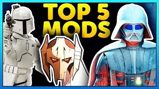 TOP 5 MODS OF THE WEEK of Star Wars Battlefront 2 Episode 48. This ...
