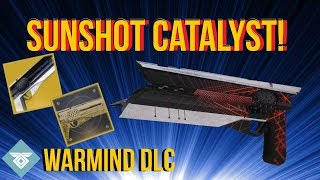 CRAZY RANGE!  CATALYST SUNSHOT REVIEW! WARMIND DLC - DESTINY 2