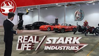 Stark Industries in REAL LIFE!? (WE ARE HIRING!)
