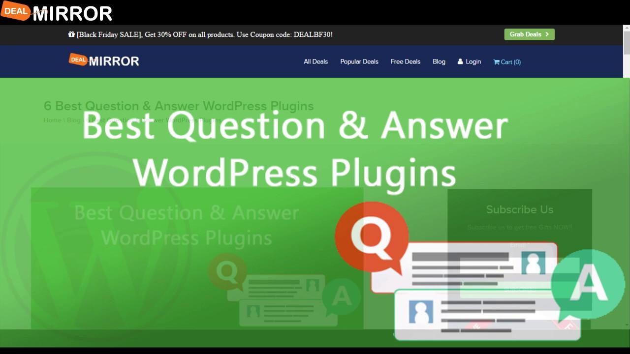 6 Best Question  Answer WordPress Plugins