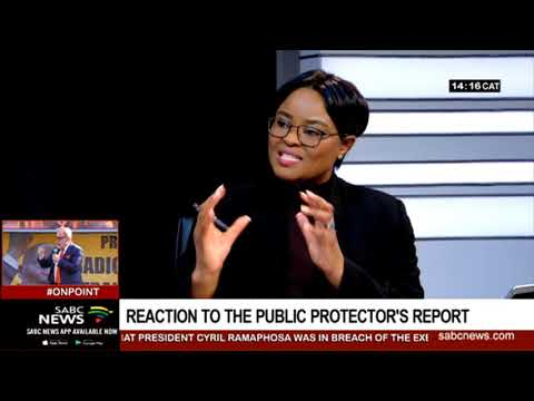 Reaction to Public Protector's report on Ramaphosa: Dr. Alex Mashilo