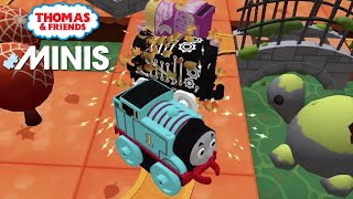Thomas and Friends Minis - Spooky Thomas at Pirate Fort Thomas Minis! ★ iOS/Android app (By Budge)