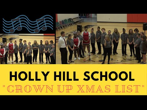04   My Grown Up Christmas List - Holly Hill School