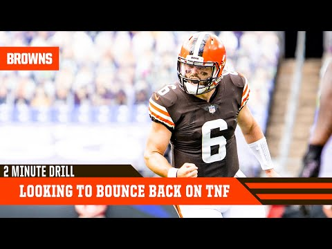 Browns Look To Bounce Back On Thursday Night Football | 2 Minute Drill