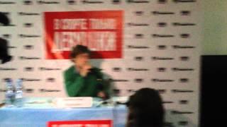 Александр Головин - пресс-конференция - Краснодар (Часть 2)